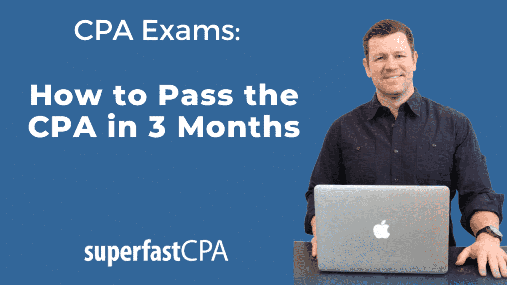how to pass the cpa in 3 months