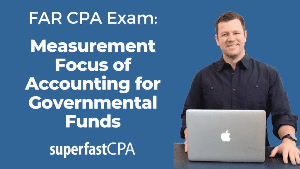 measurement focus and basis of accounting governmental funds