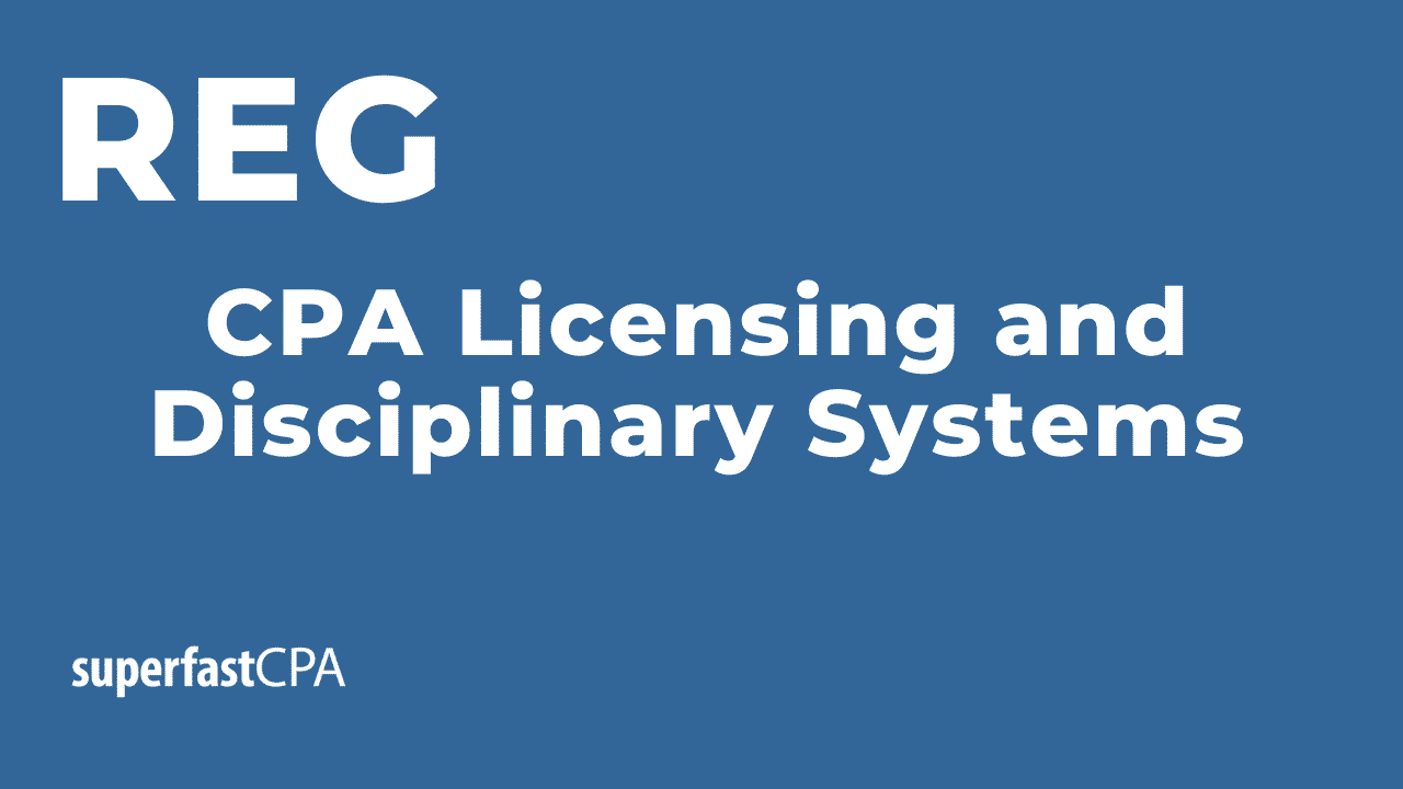 cpa licensing and disciplinary systems