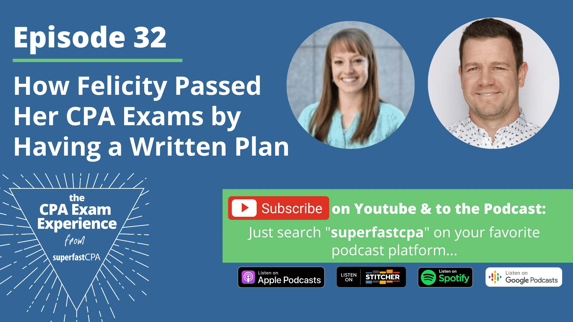 how felicity passed her cpa exams superfastcpa